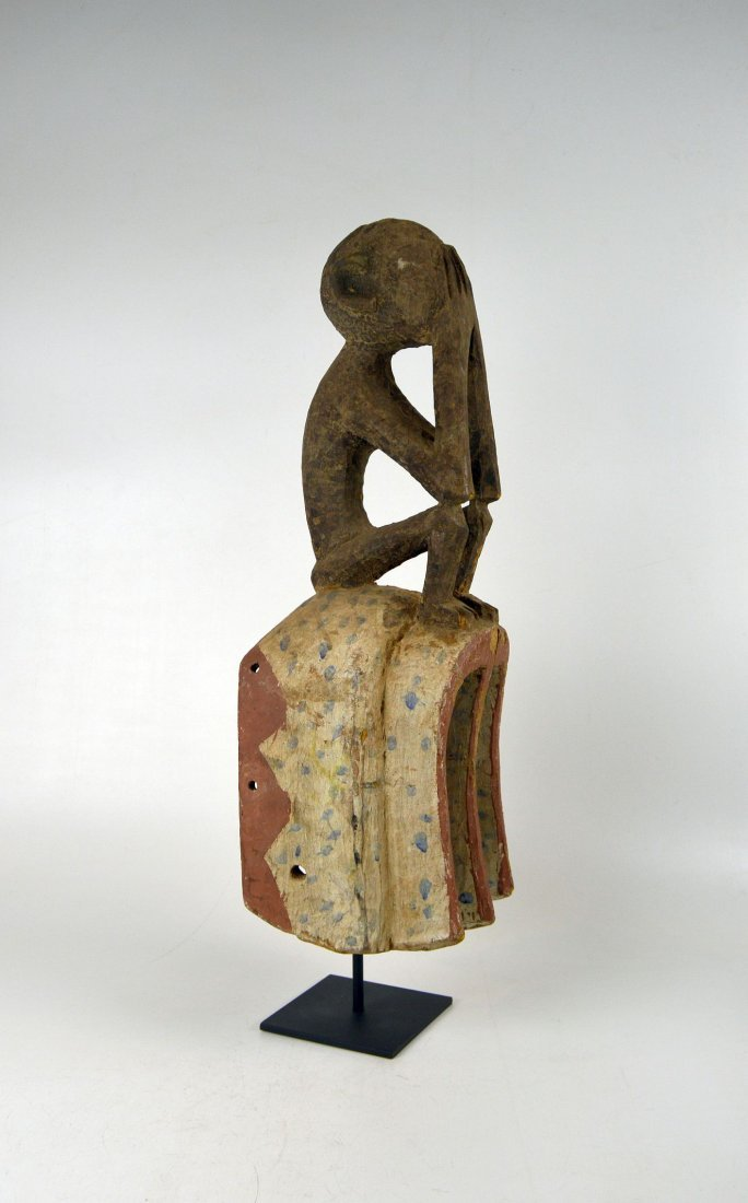 A Fine old Dogon Monkey mask, African Art - 6