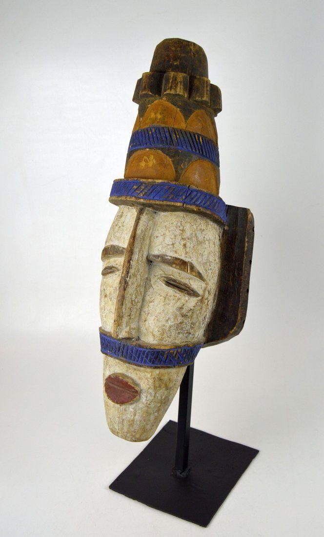 Large Ibo Parade mask, African Art