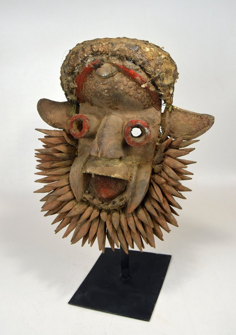 Fantastic Gere Wobe African Mask