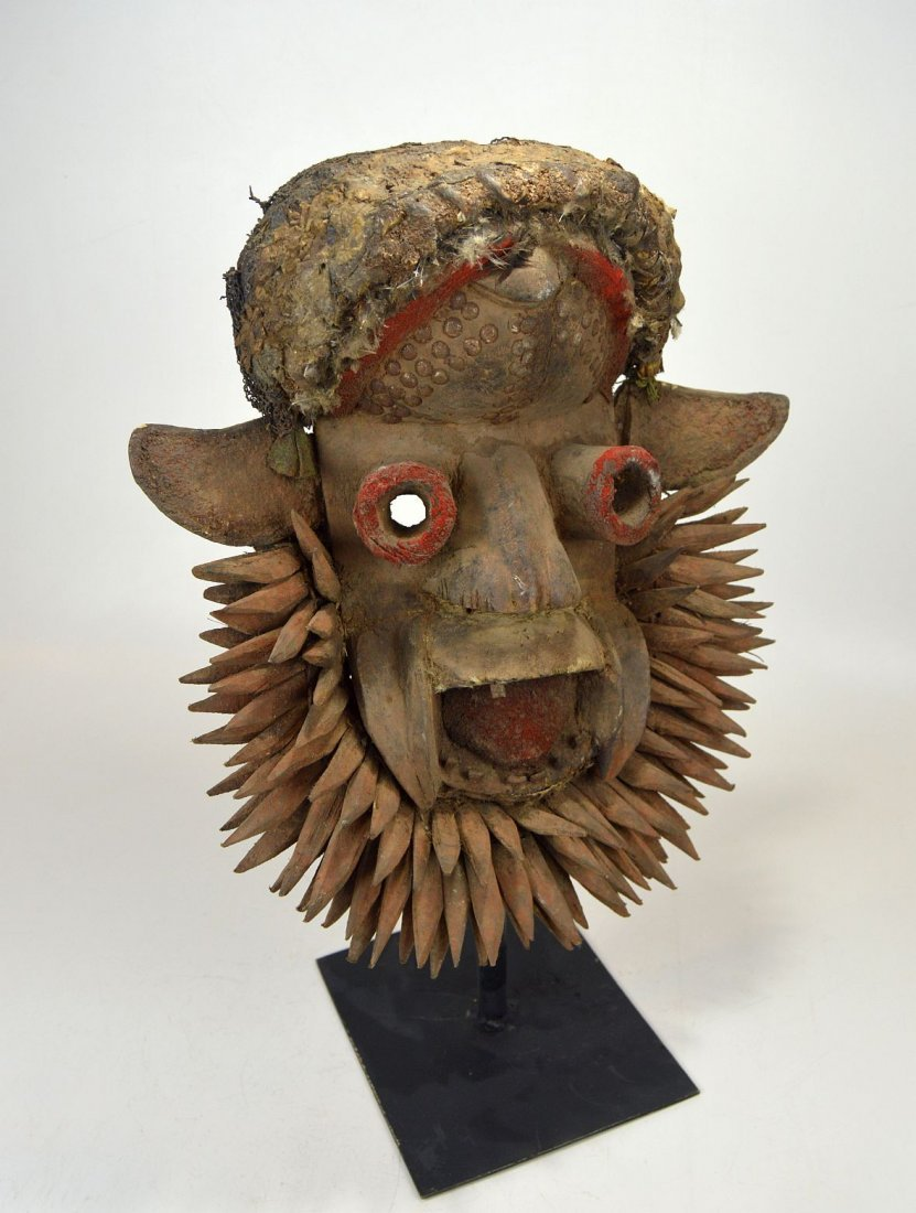 Fantastic Gere Wobe African Mask - 2