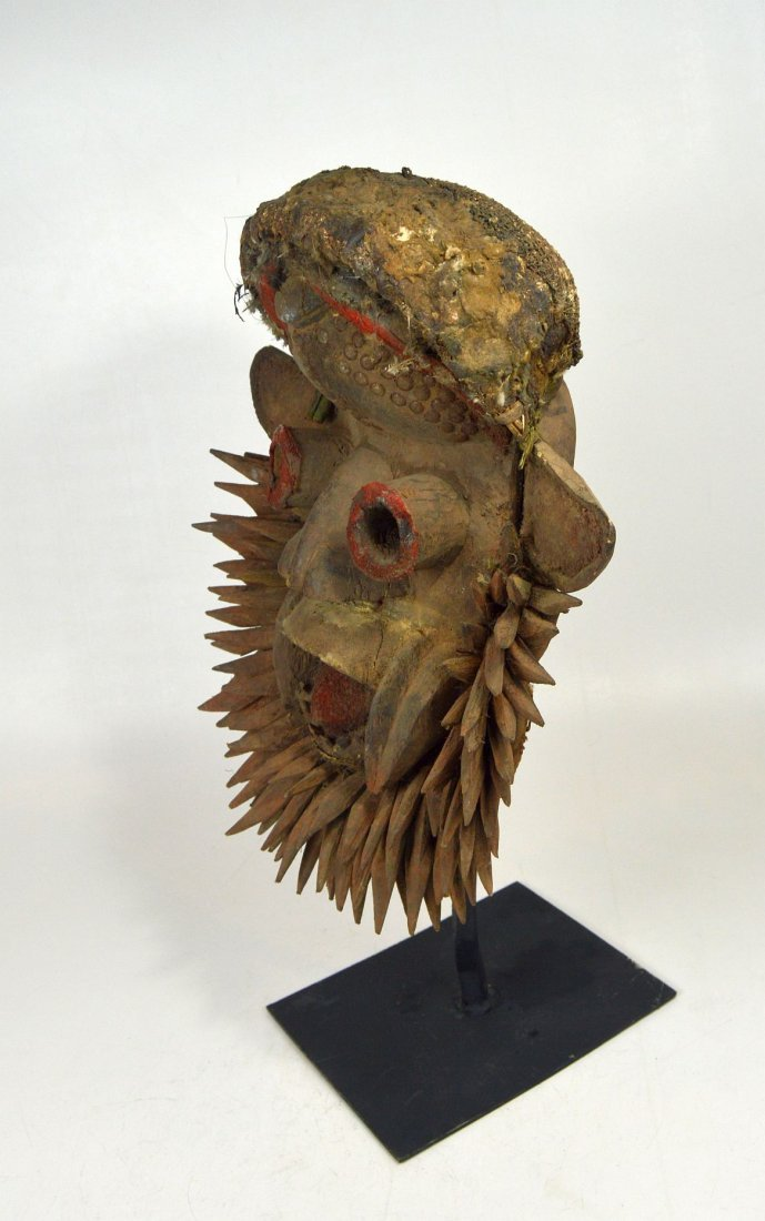 Fantastic Gere Wobe African Mask - 5