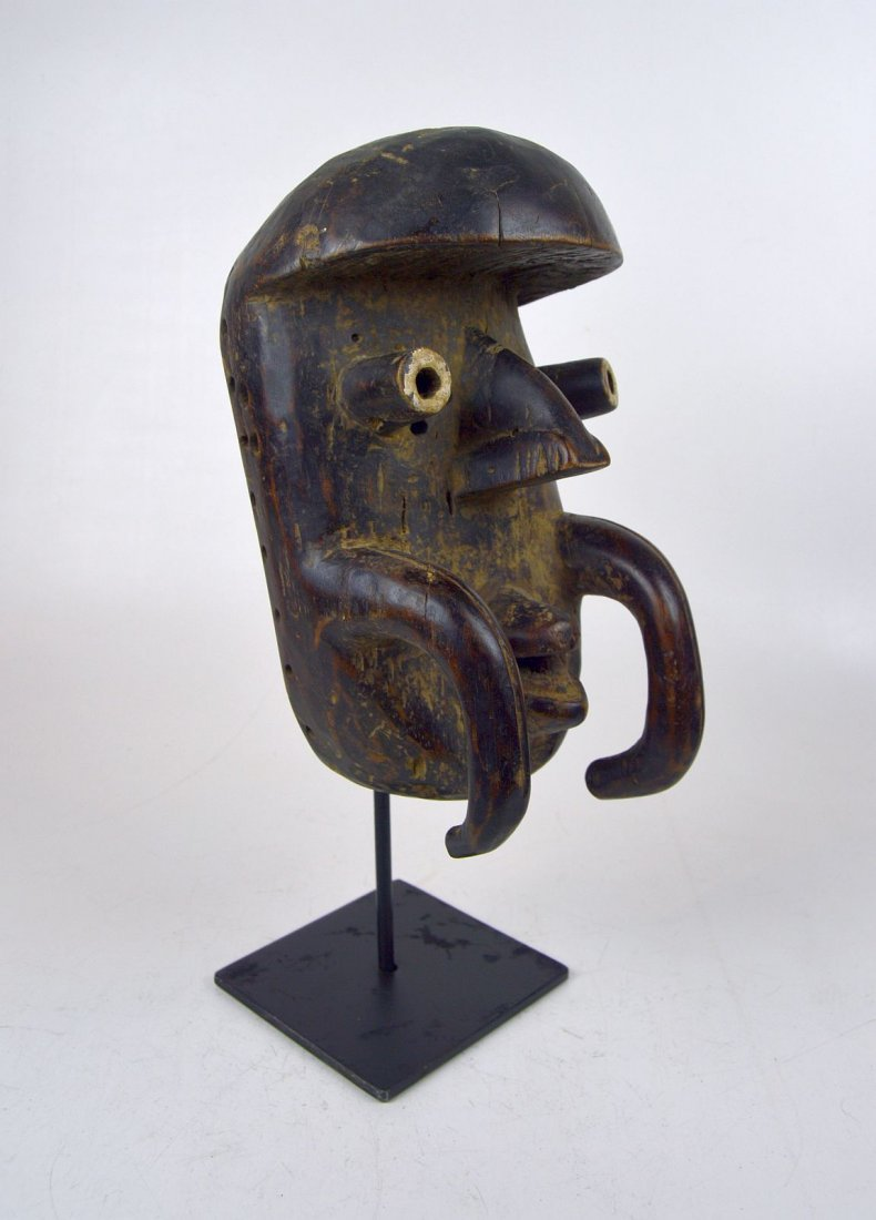 Old Bete African mask, African Art - 2