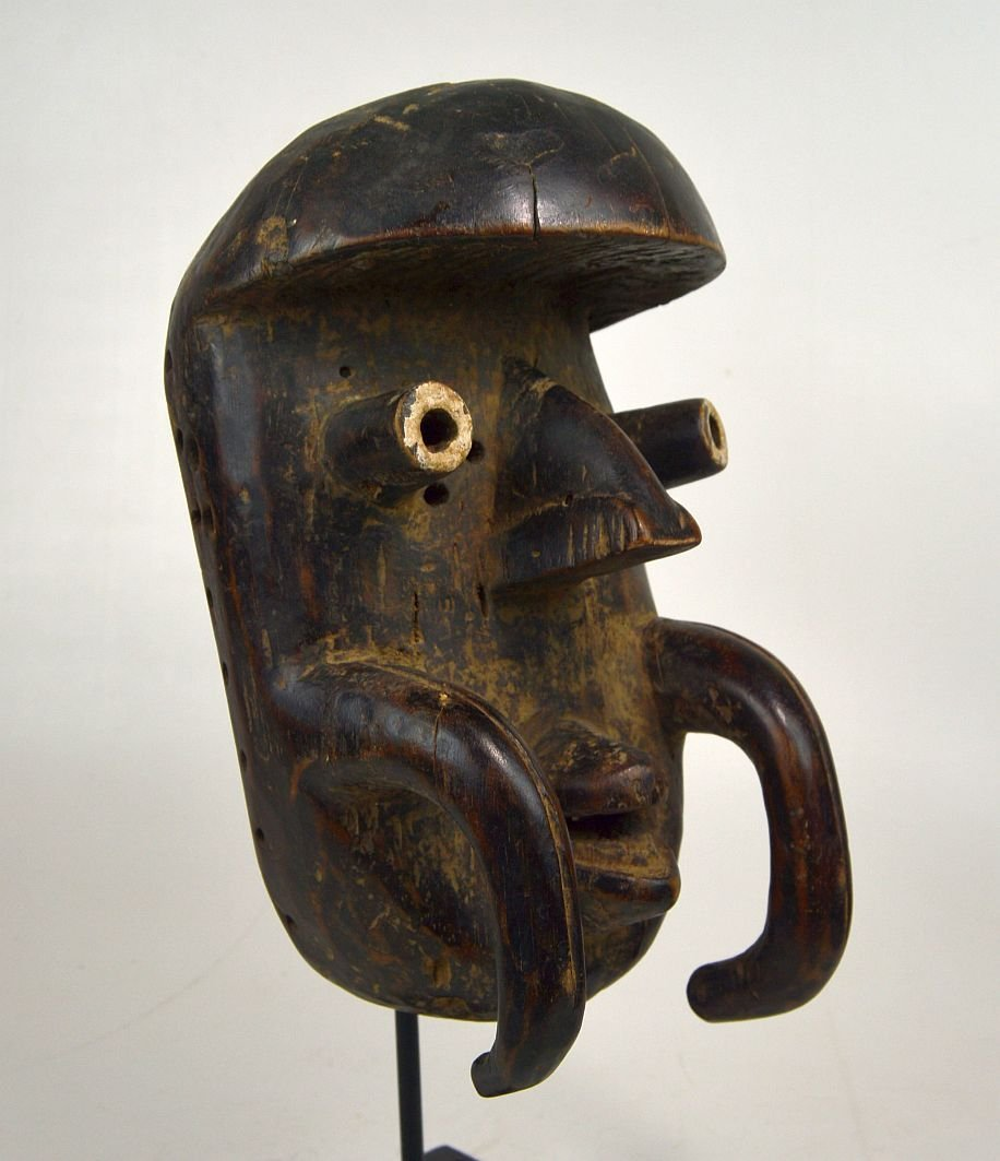 Old Bete African mask, African Art - 3