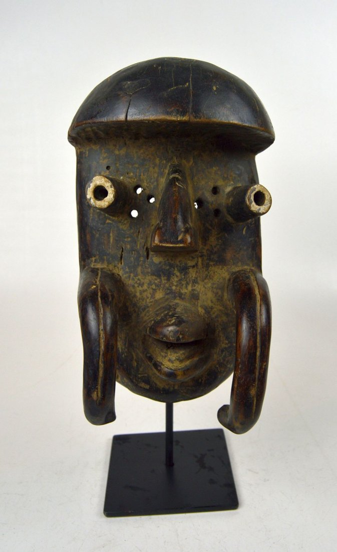 Old Bete African mask, African Art - 4