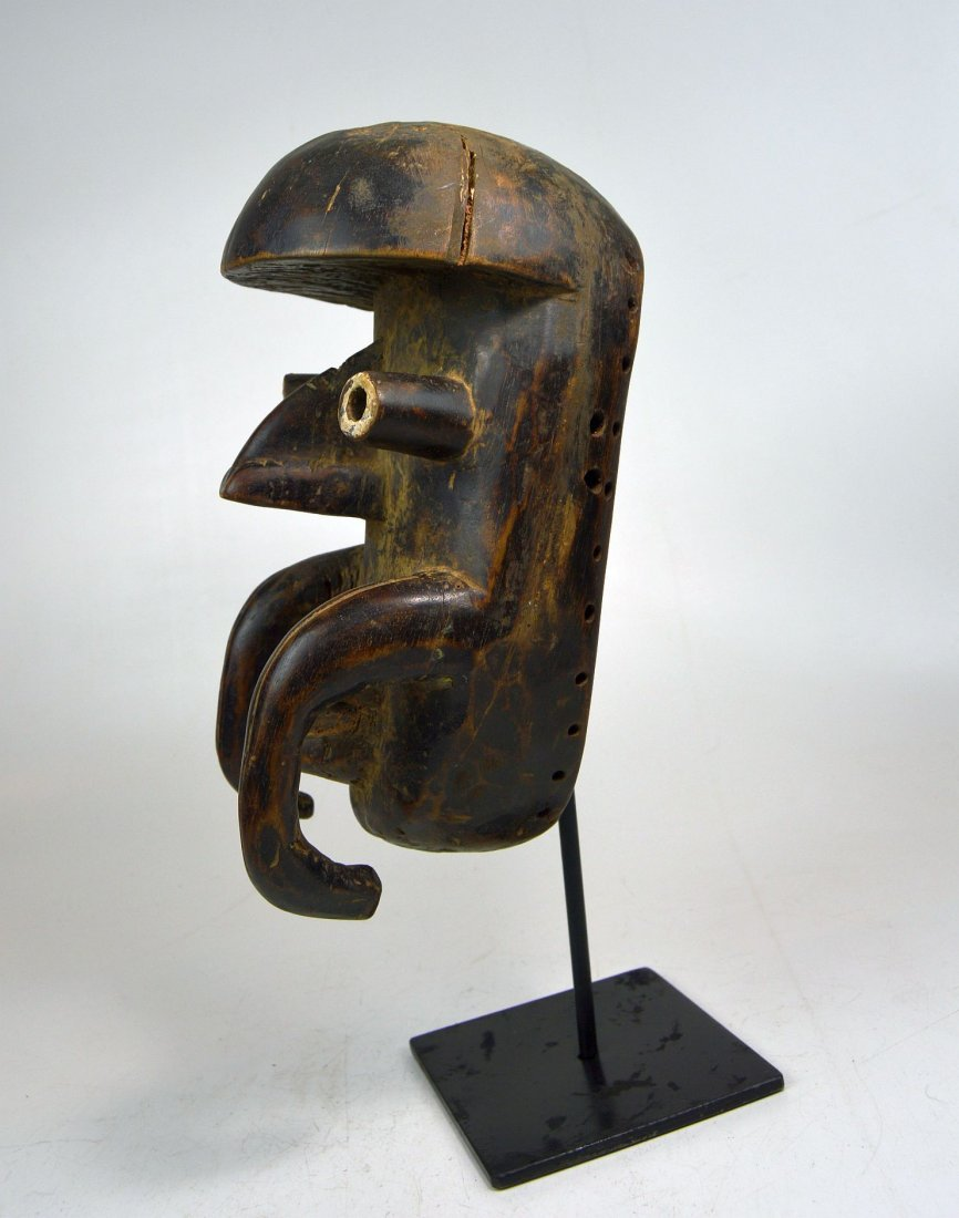 Old Bete African mask, African Art - 5