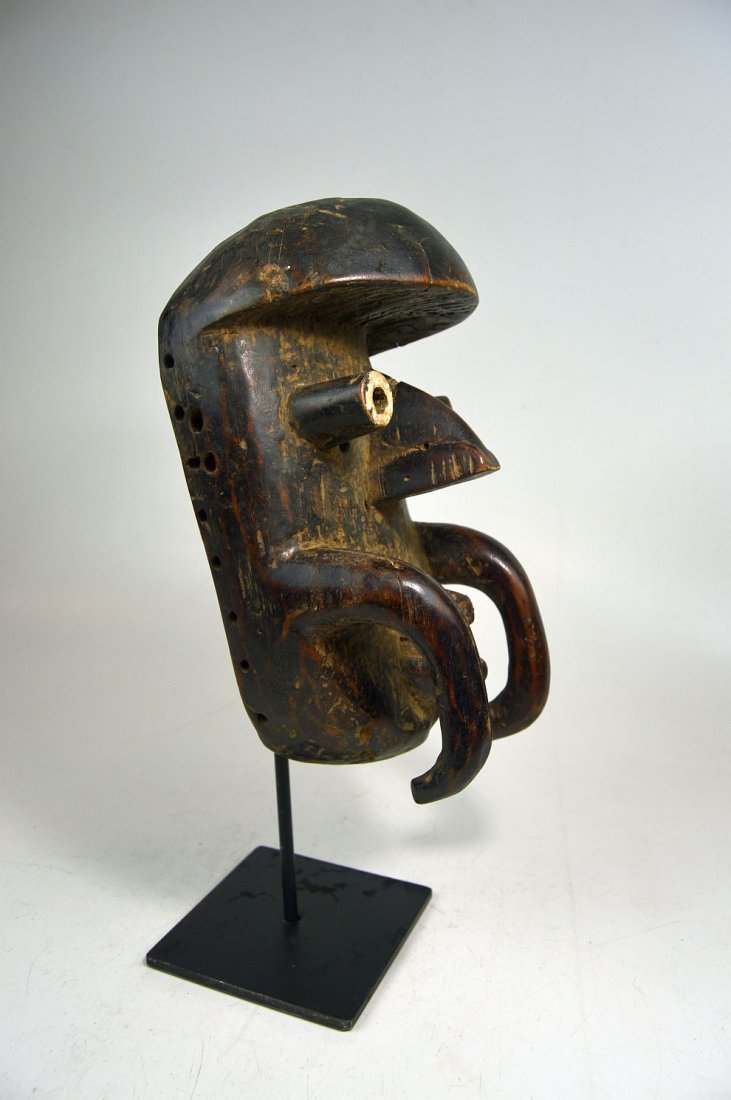 Old Bete African mask, African Art - 8