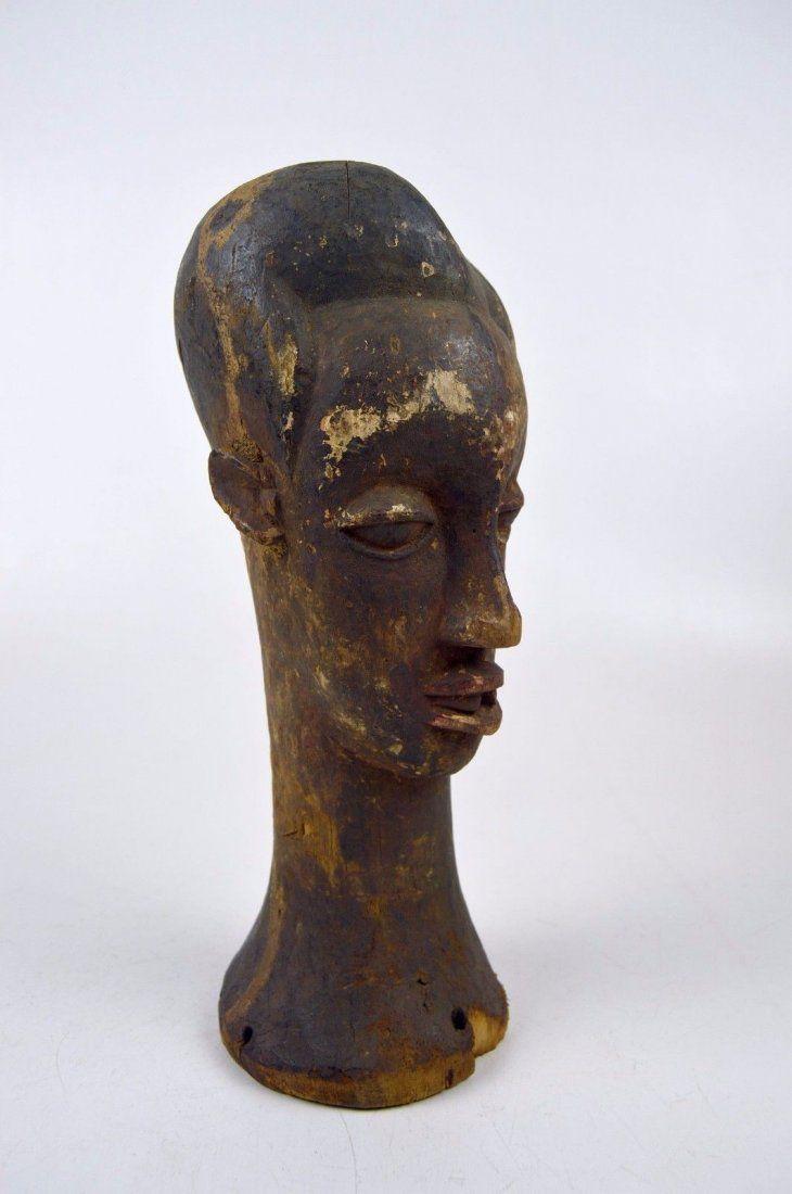 A Stunning Old Idoma Headdress sculpture, African Art