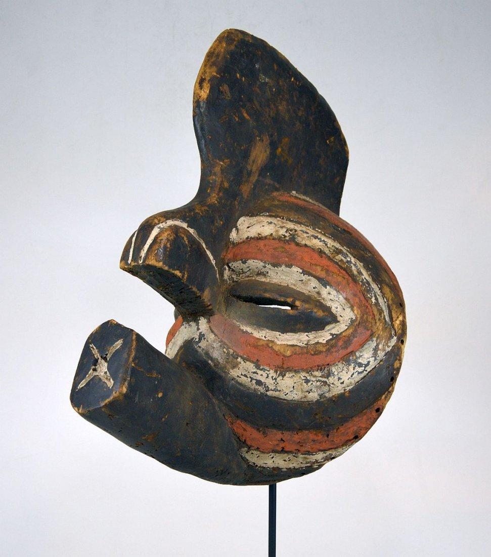 A Fantastic Luba Kifwebe Male African mask, African Art