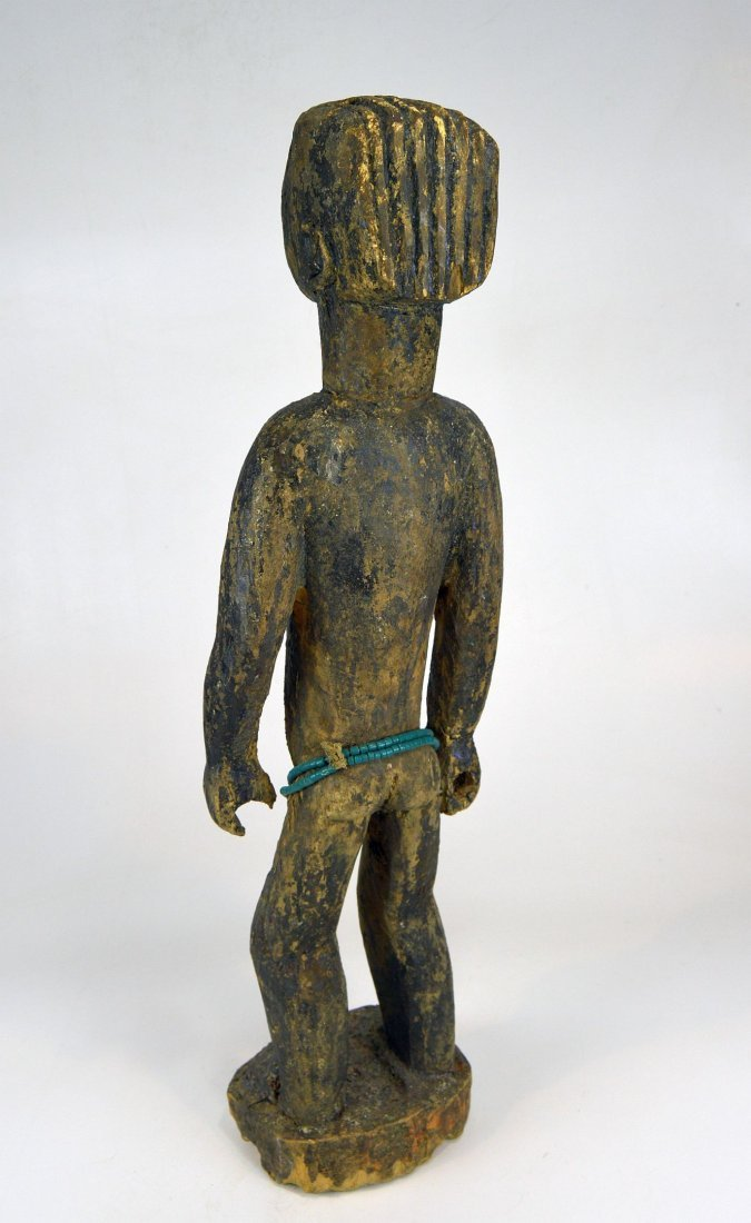 Large Old Primitive Akan Shrine figure, African Art - 8