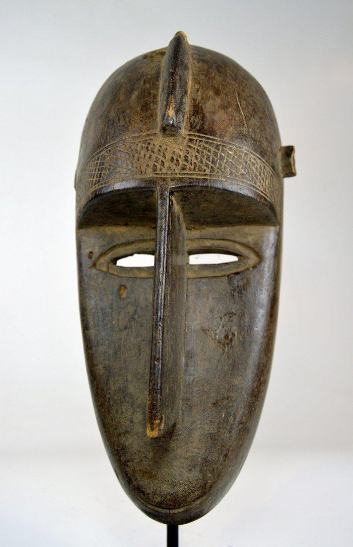 Old Malinke Dance mask, African Mask - 2