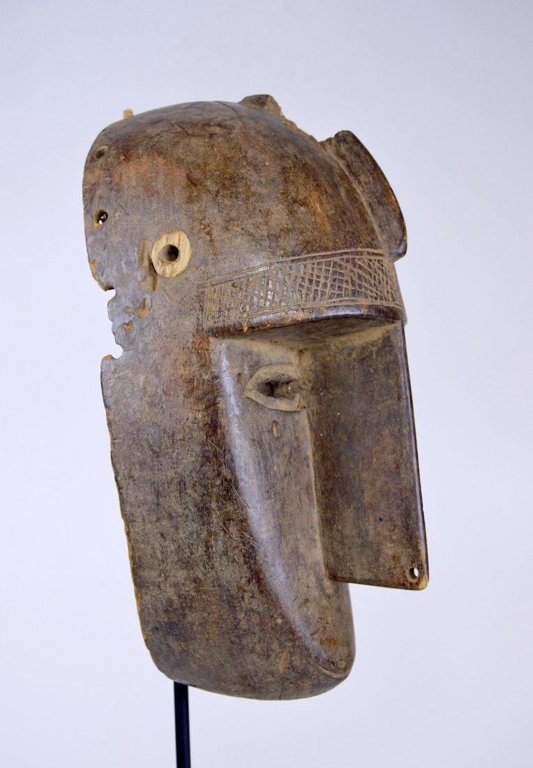 Old Malinke Dance mask, African Mask - 4