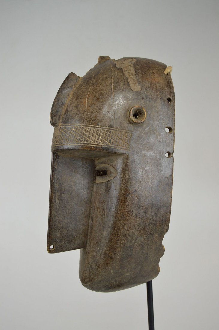 Old Malinke Dance mask, African Mask - 6