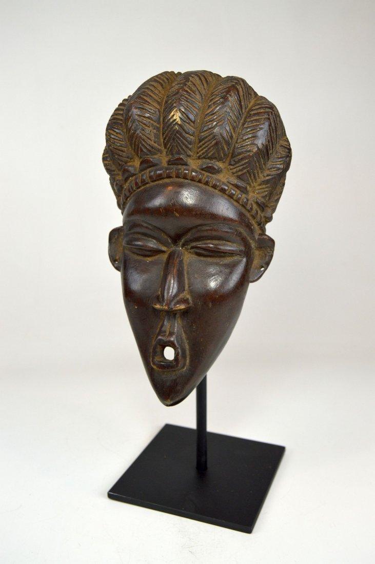 A Fine Vintage Dan Bassa Mask, African Art - 2