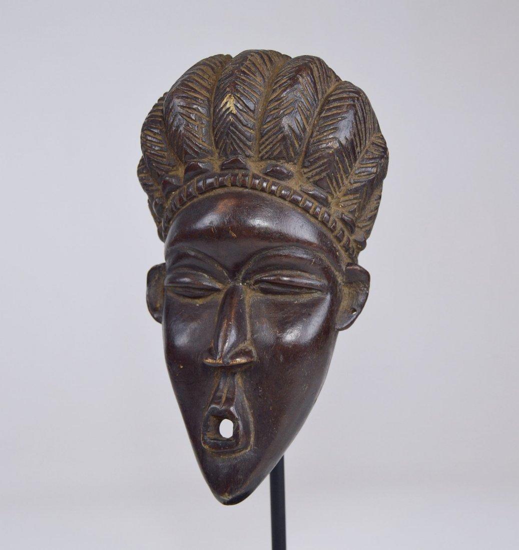A Fine Vintage Dan Bassa Mask, African Art - 3