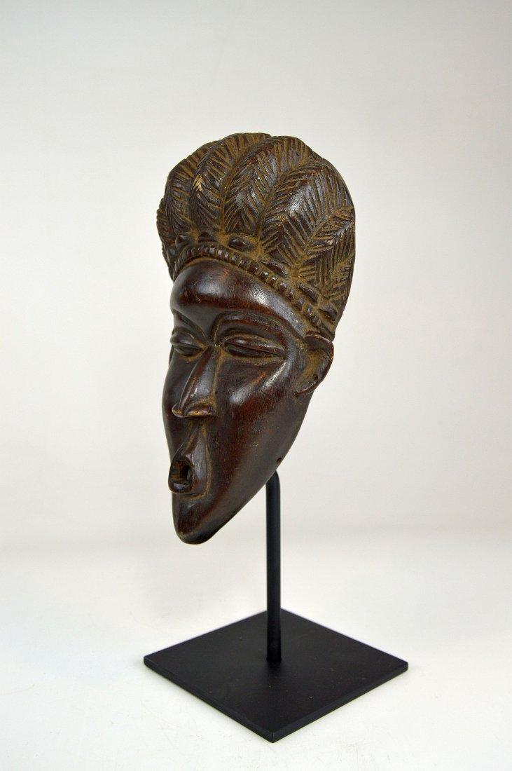A Fine Vintage Dan Bassa Mask, African Art - 4