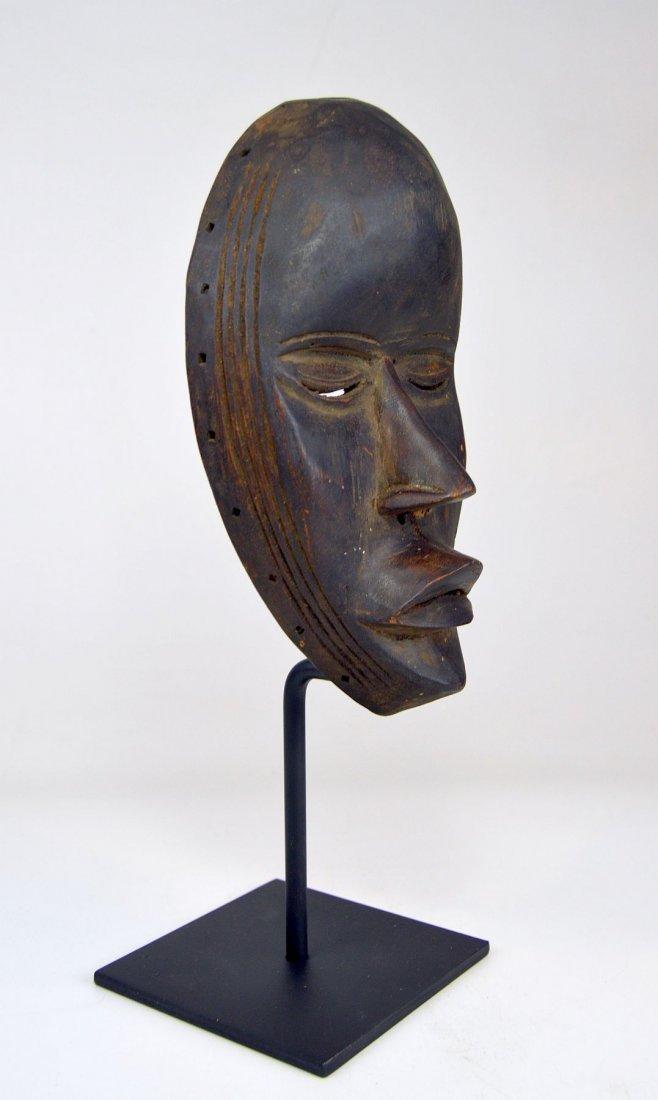 A Fine Vintage Dan Bassa Mask, African Art - 5