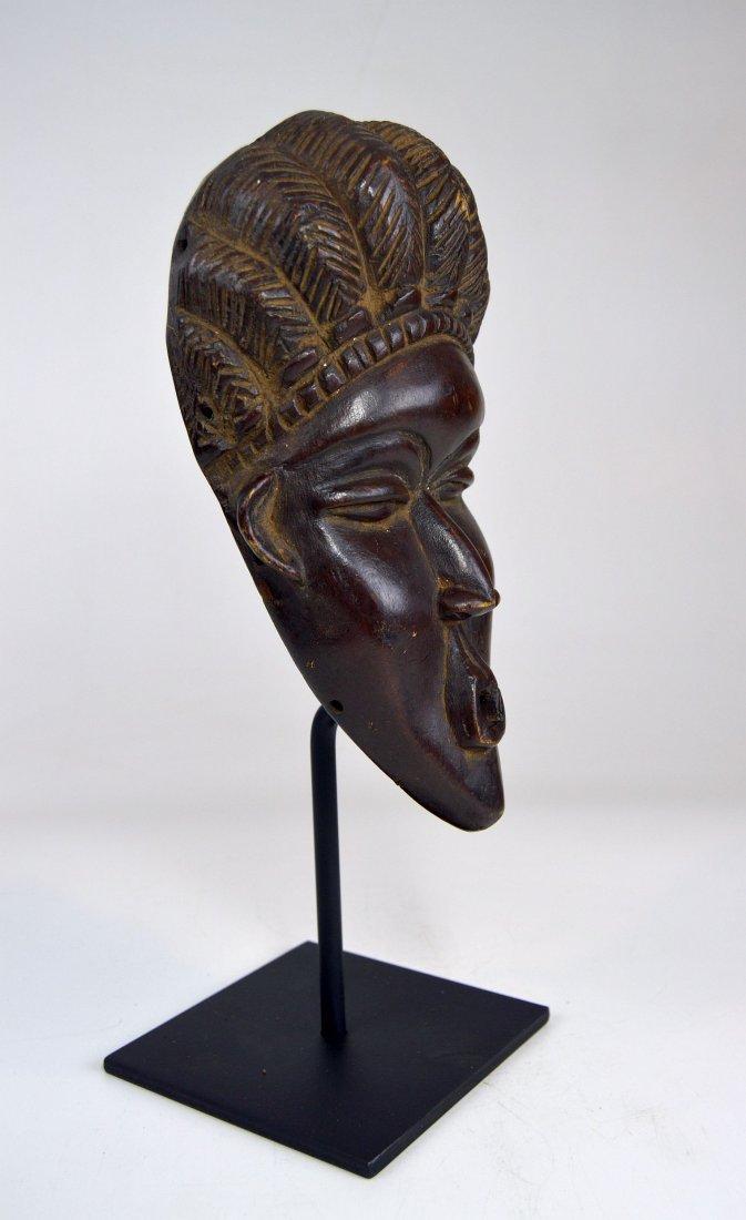 A Fine Vintage Dan Bassa Mask, African Art - 6