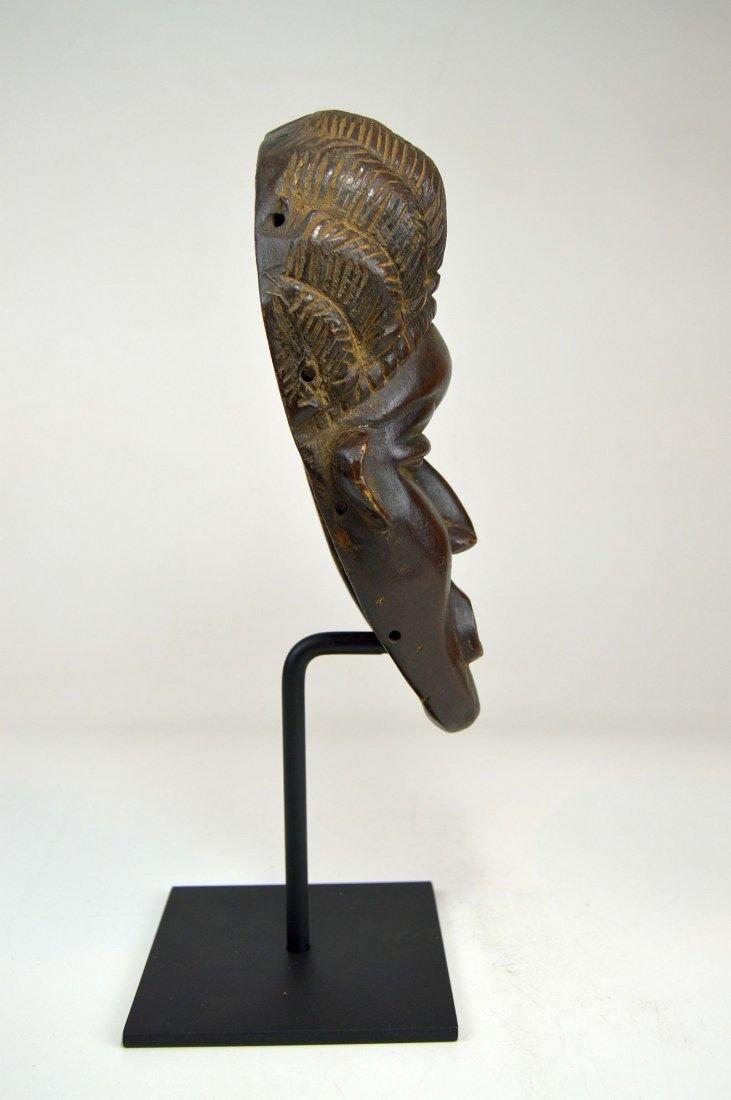 A Fine Vintage Dan Bassa Mask, African Art - 7