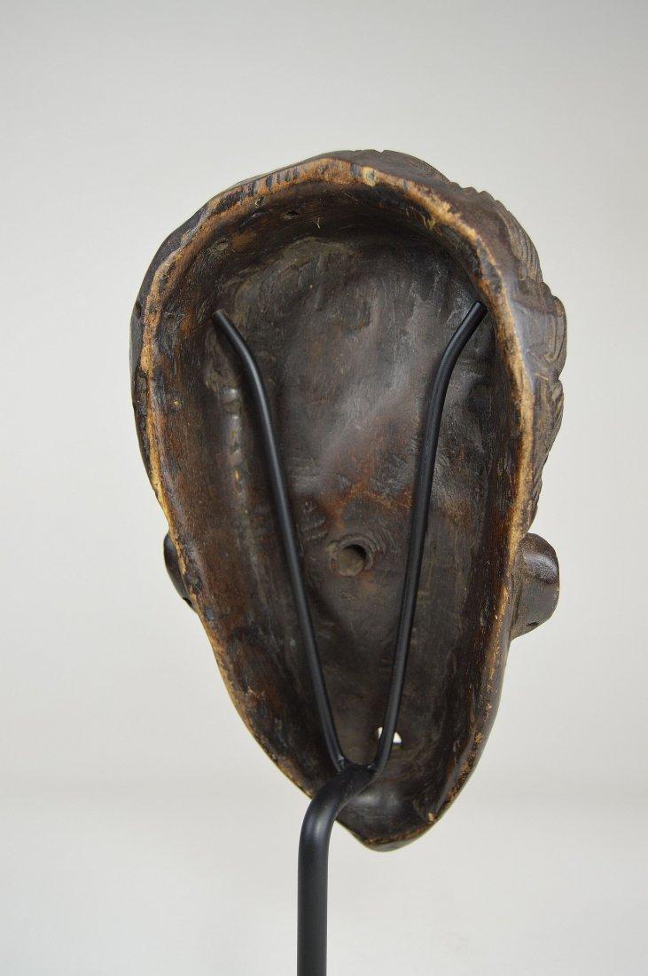 A Fine Vintage Dan Bassa Mask, African Art - 8