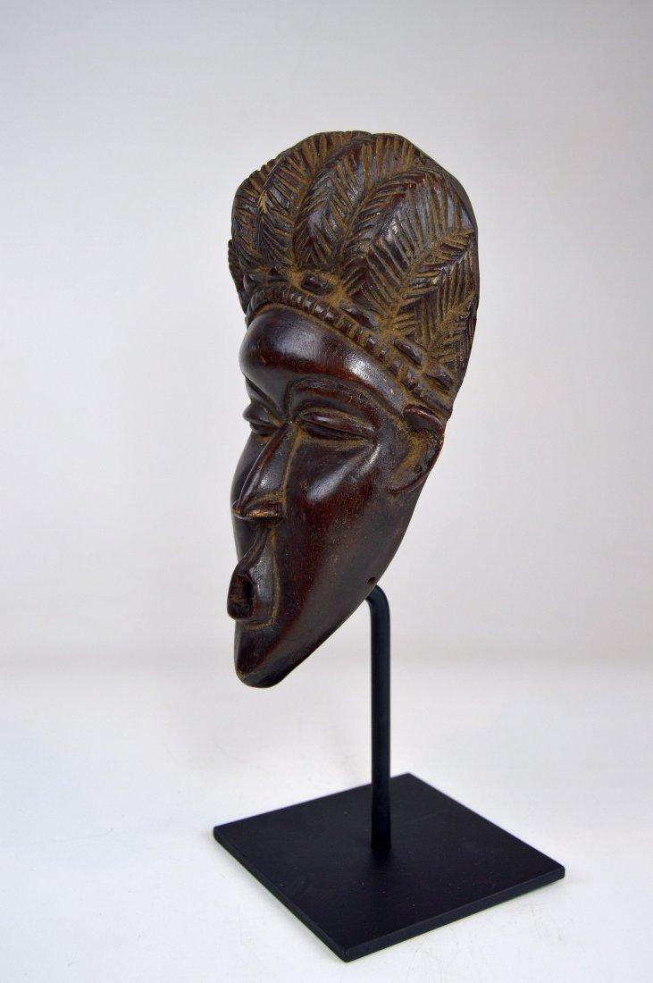 A Fine Vintage Dan Bassa Mask, African Art - 9