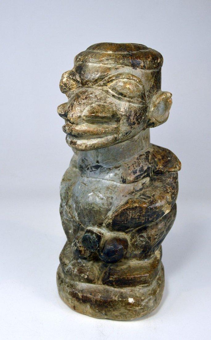 Mysterious Sapi Nomoli Stone Statue, Rare African Art - 2