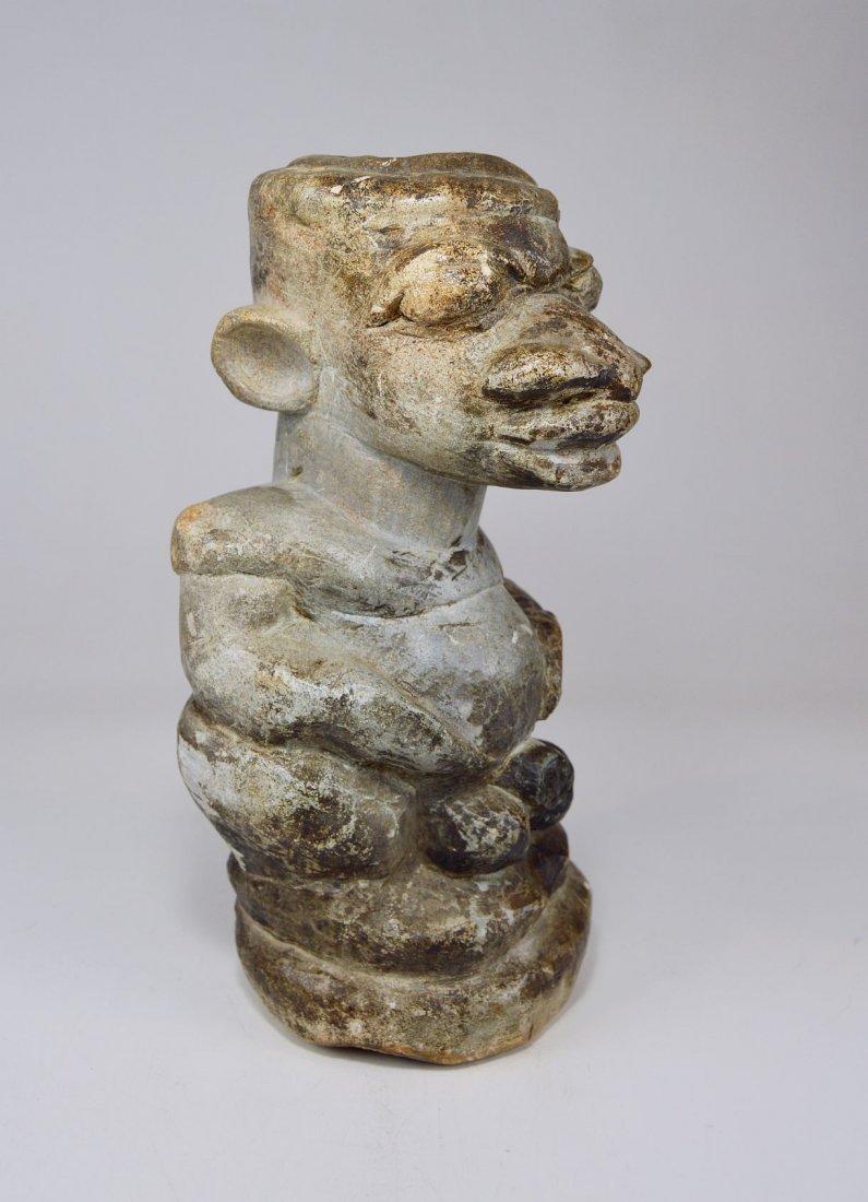 Mysterious Sapi Nomoli Stone Statue, Rare African Art - 3