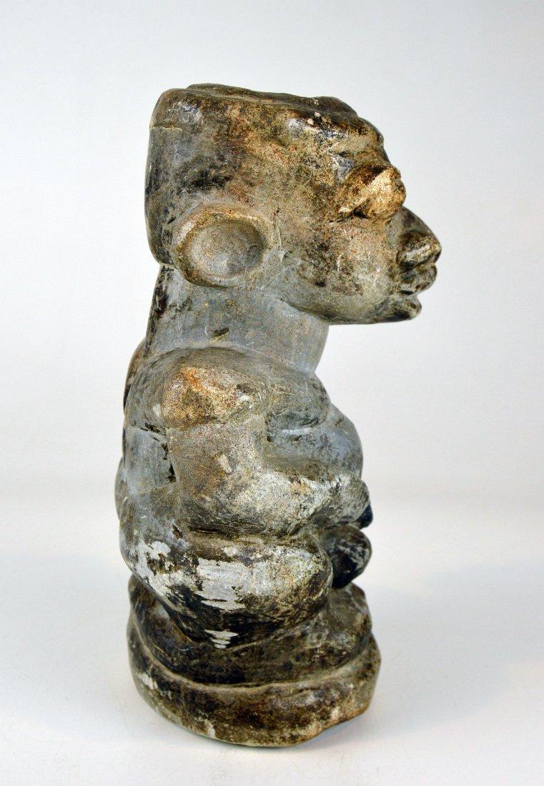 Mysterious Sapi Nomoli Stone Statue, Rare African Art - 4