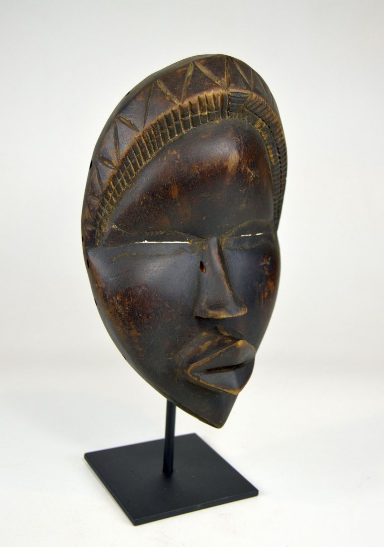 Sweet & Serene Old Dan African Mask