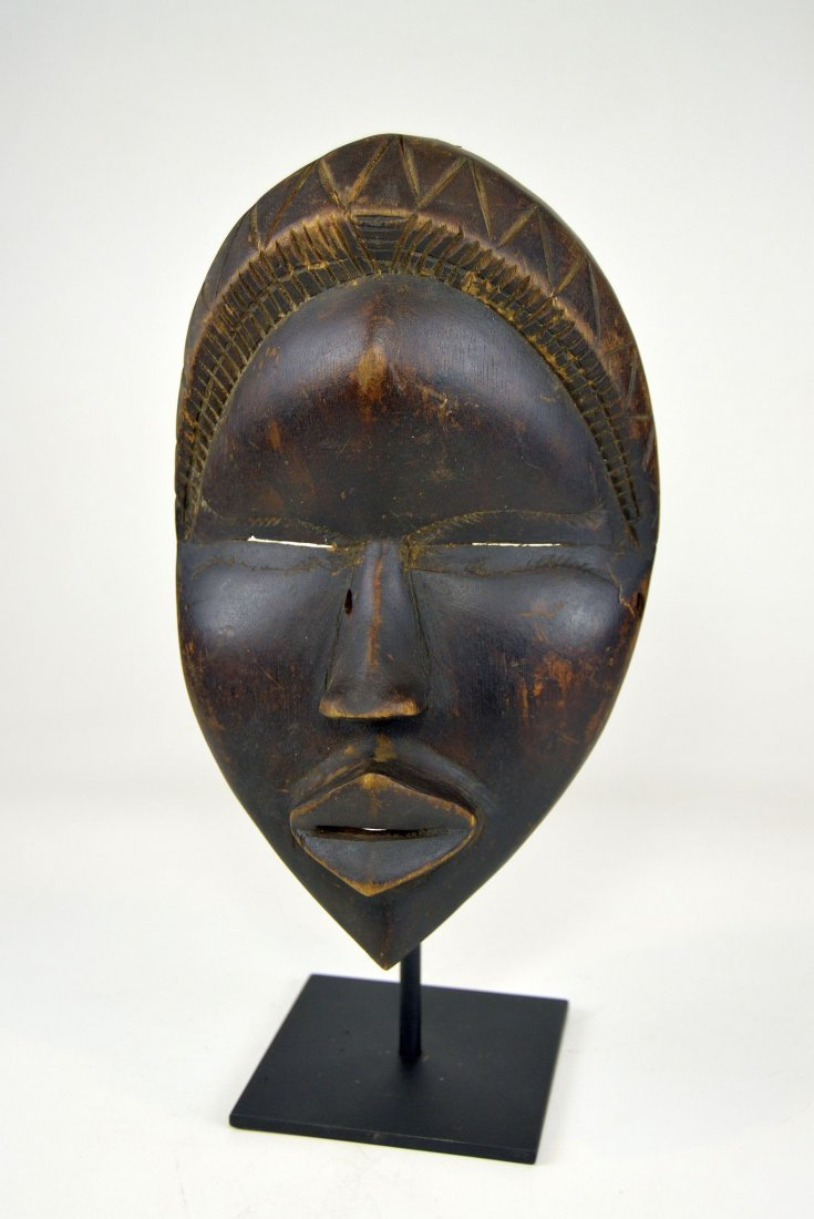 Sweet & Serene Old Dan African Mask - 2