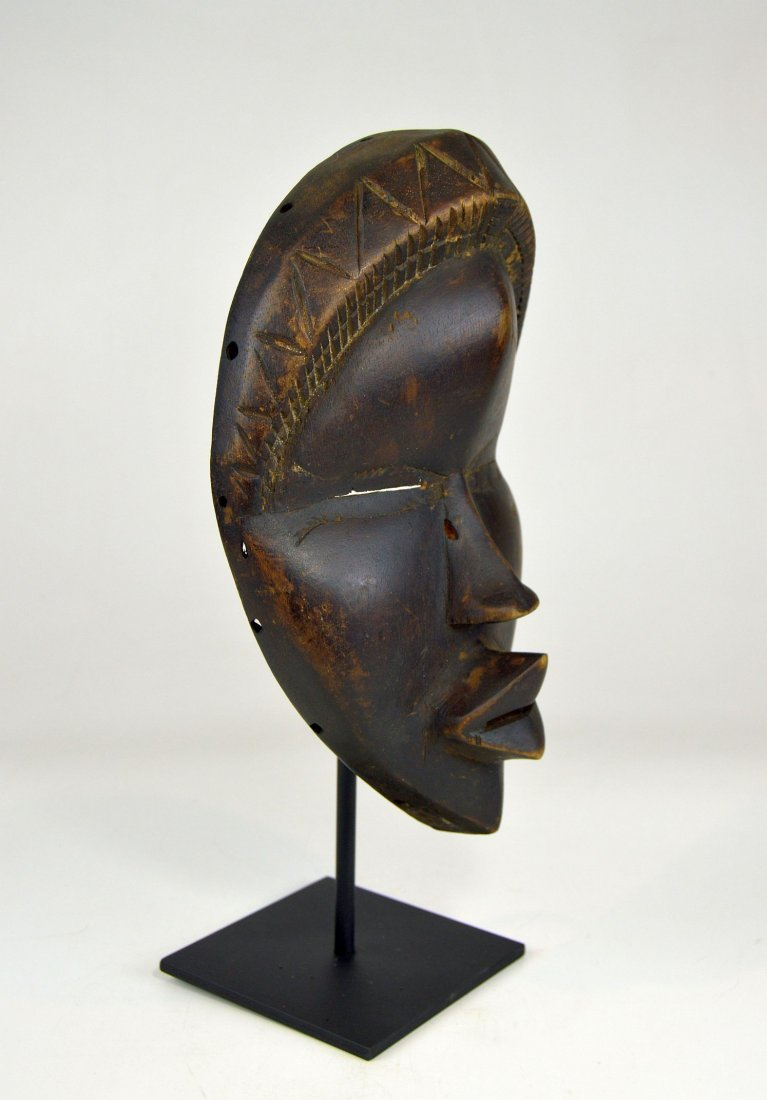 Sweet & Serene Old Dan African Mask - 3