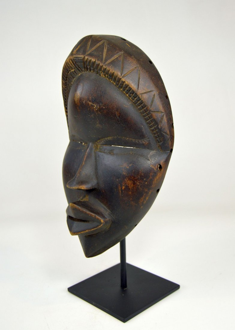 Sweet & Serene Old Dan African Mask - 4