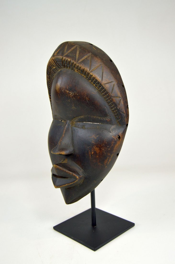 Sweet & Serene Old Dan African Mask - 5