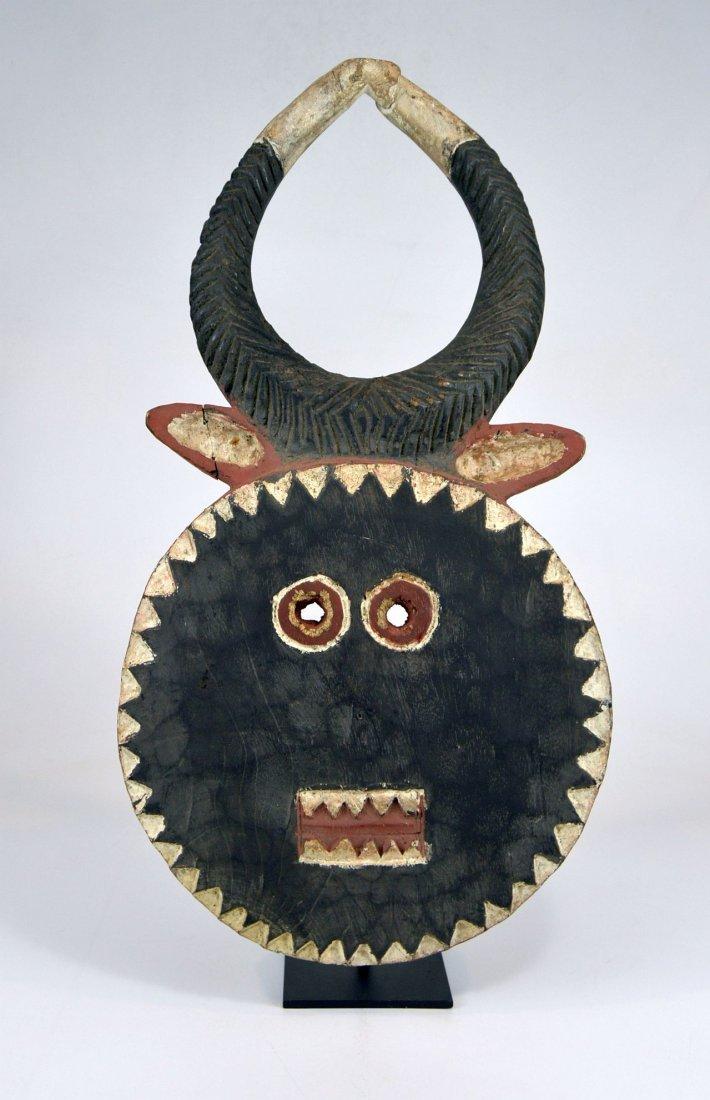 A Baule Goli festival mask, African mask