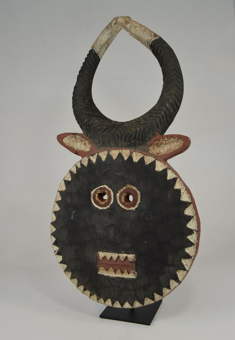 A Baule Goli festival mask, African mask - 2