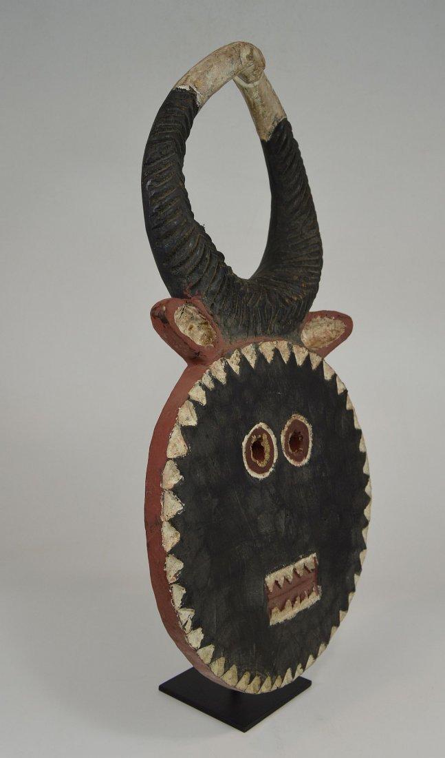 A Baule Goli festival mask, African mask - 3