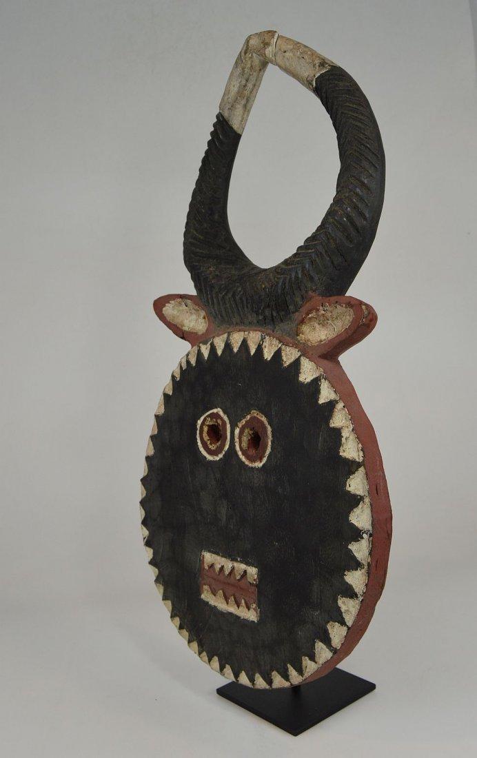 A Baule Goli festival mask, African mask - 4