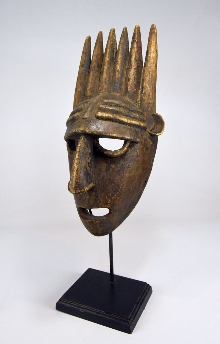 A Vintage Bamana N'tomo African mask