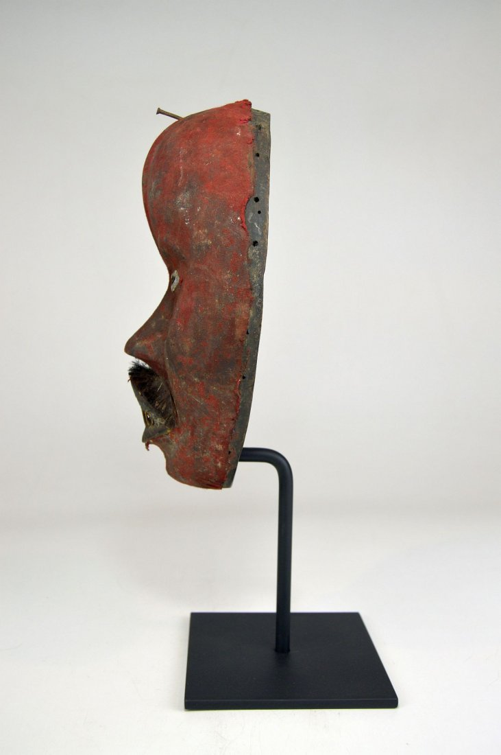 A Stunning Red Poro DAN African mask - 6