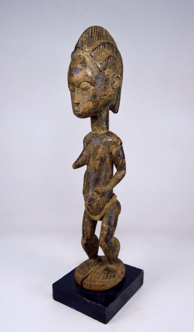 Vintage Baule Spirit Wife sculpture African Art