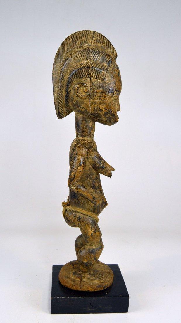 Vintage Baule Spirit Wife sculpture African Art - 4
