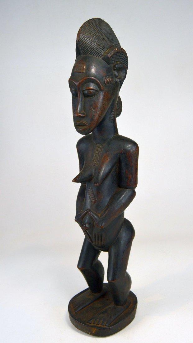 A Fine Vintage Baule Spirit Wife sculpture, African Art