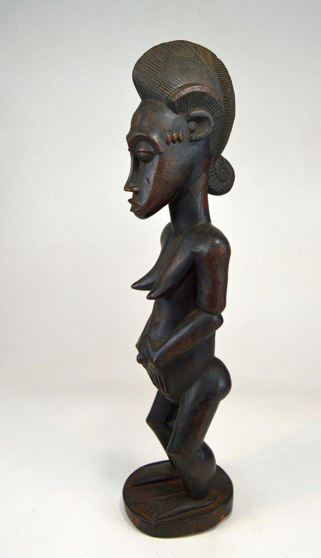 A Fine Vintage Baule Spirit Wife sculpture, African Art - 2