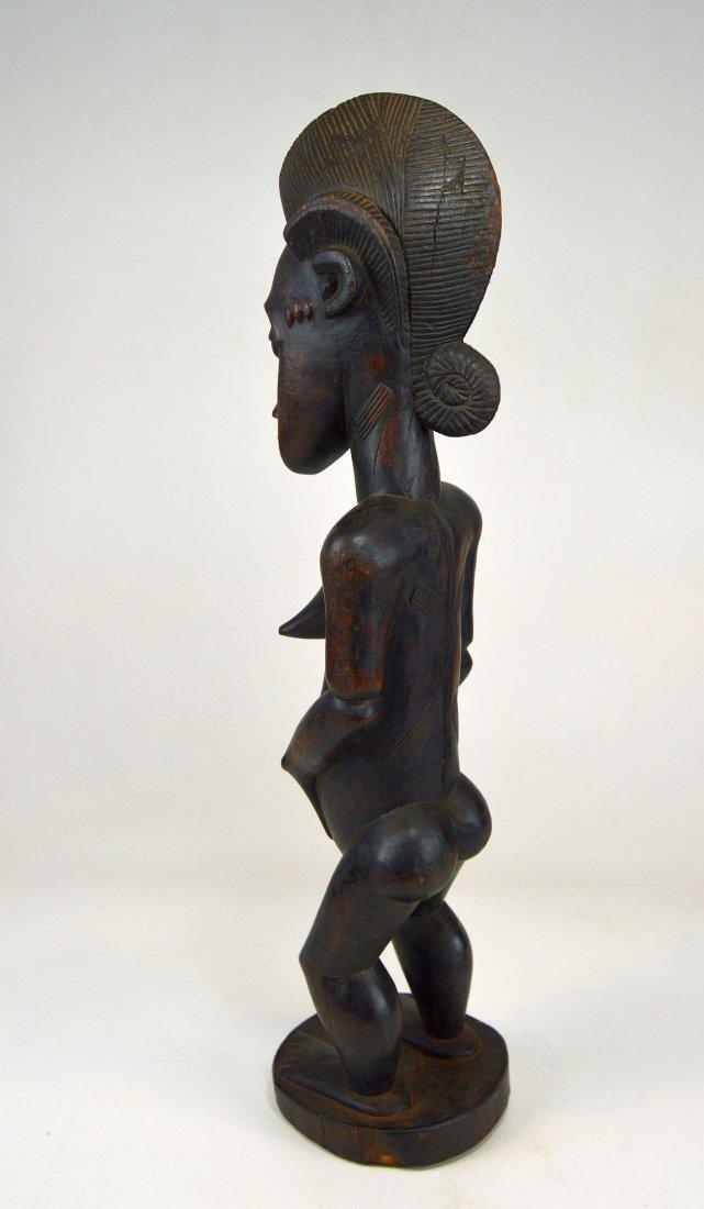 A Fine Vintage Baule Spirit Wife sculpture, African Art - 3