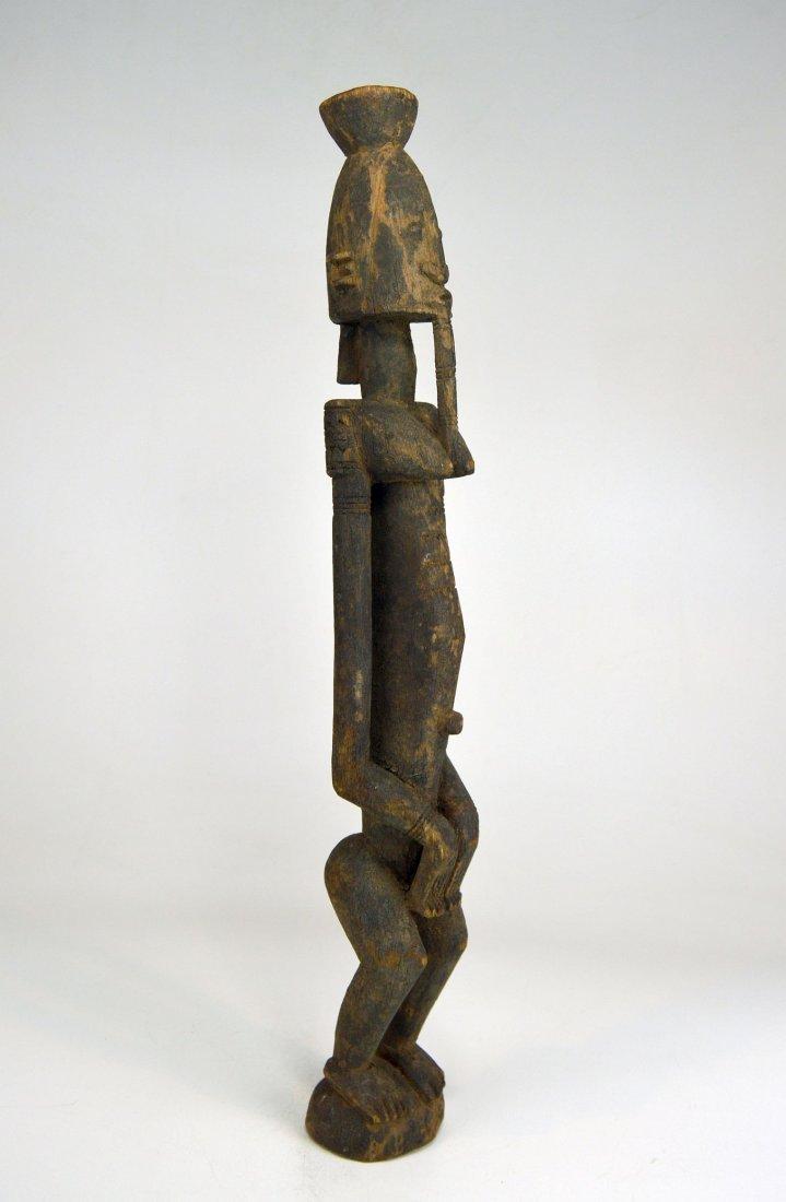 Vintage Dogon Ancestor sculpture, African Art - 2