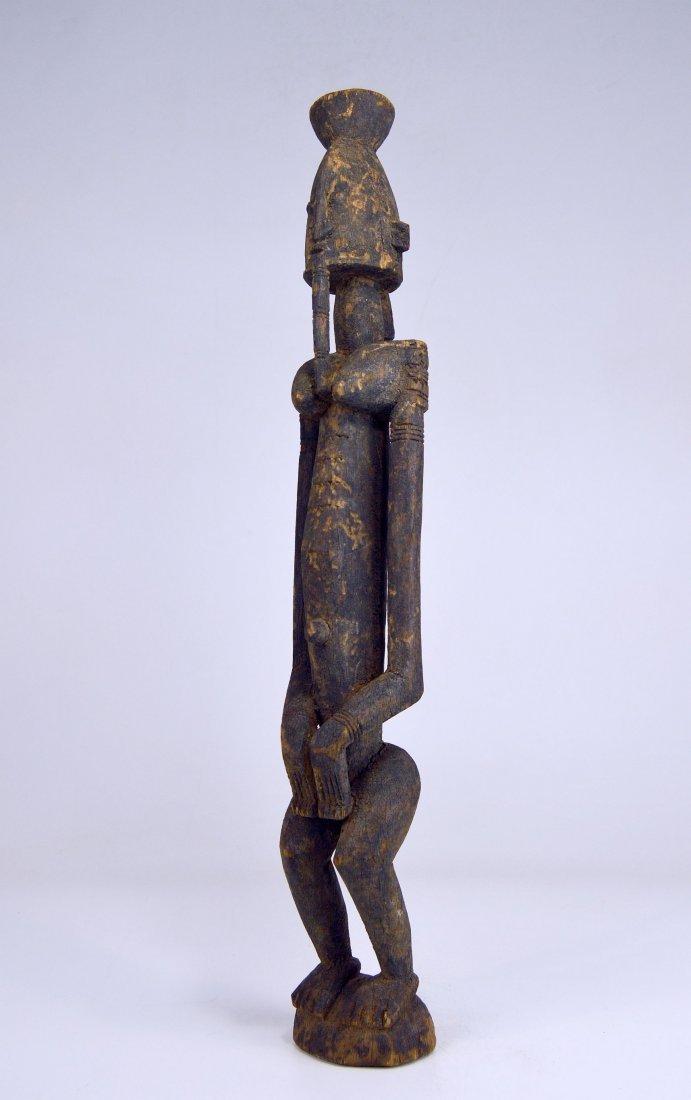 Vintage Dogon Ancestor sculpture, African Art - 3