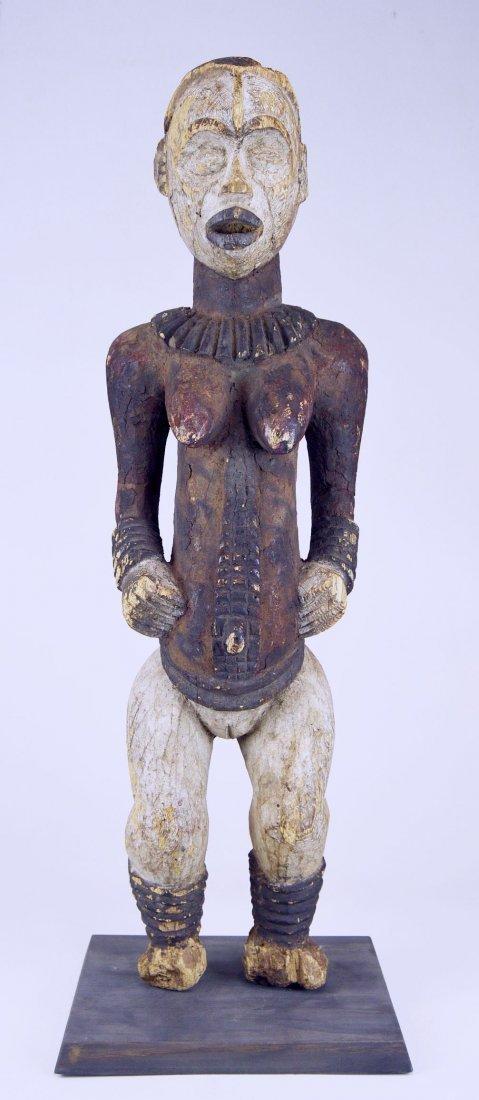Large Old Idoma Anjenu Ancestor sculpture, African Art - 10