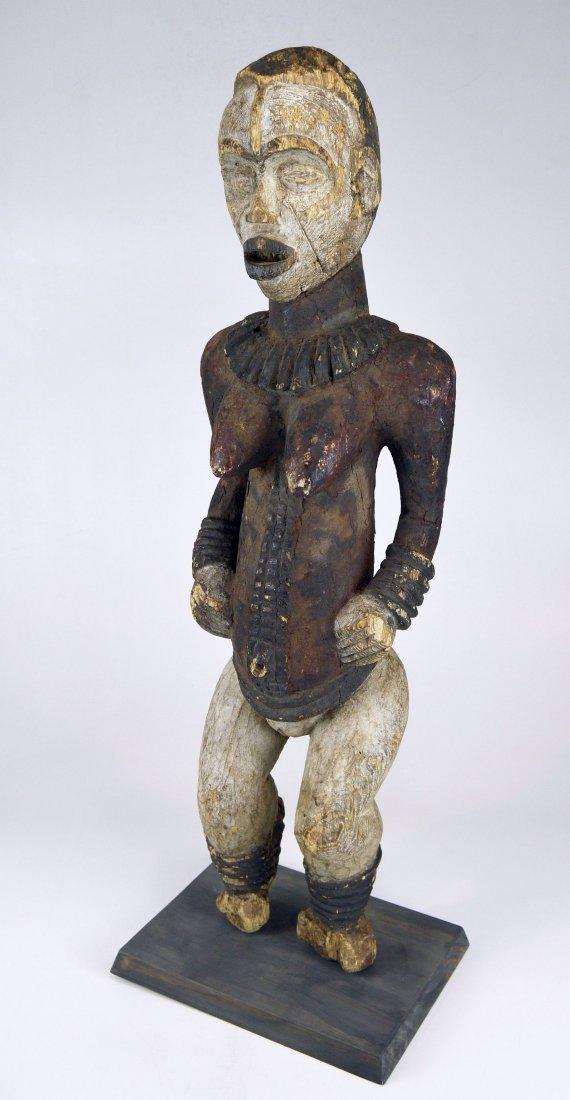 Large Old Idoma Anjenu Ancestor sculpture, African Art