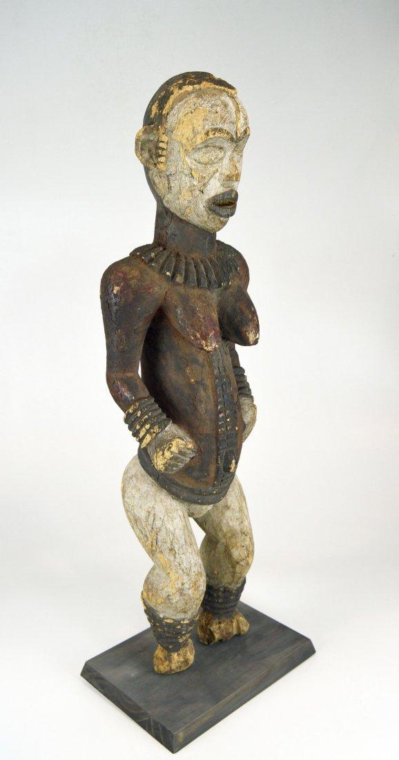 Large Old Idoma Anjenu Ancestor sculpture, African Art - 2