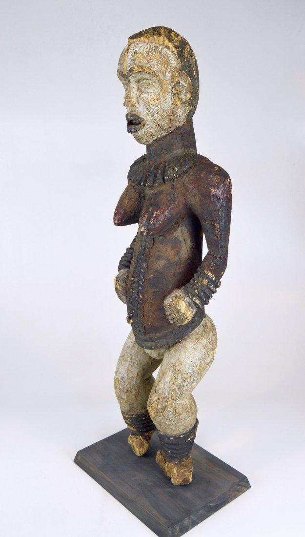 Large Old Idoma Anjenu Ancestor sculpture, African Art - 4