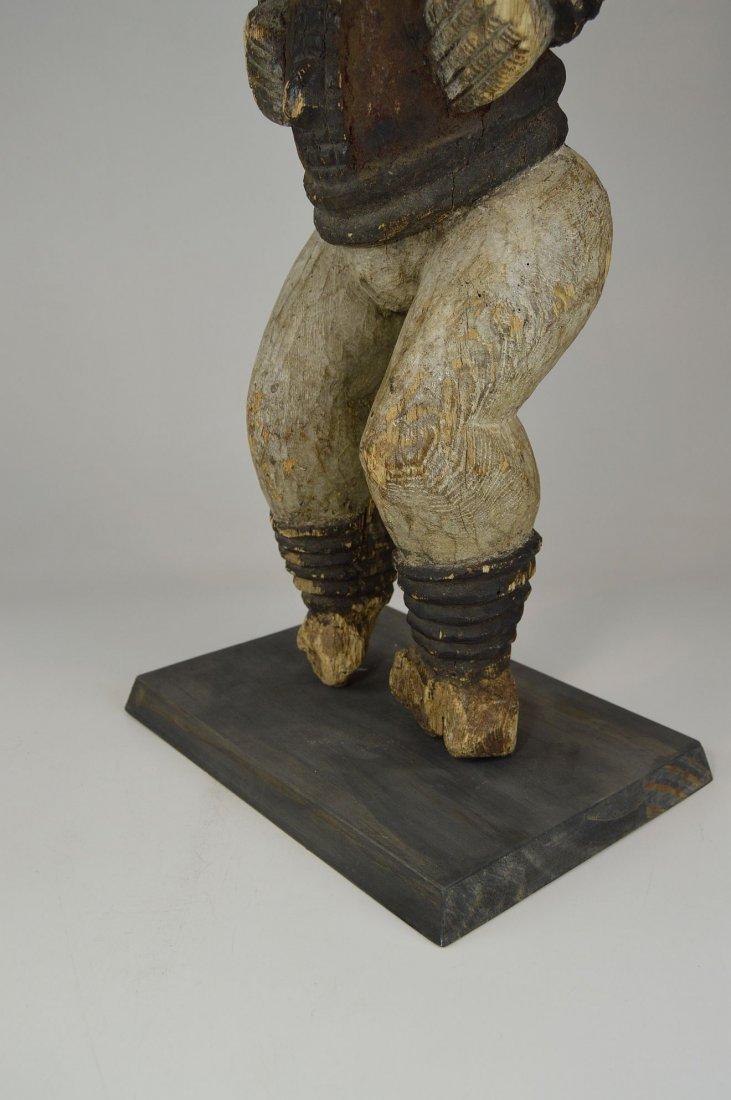 Large Old Idoma Anjenu Ancestor sculpture, African Art - 6